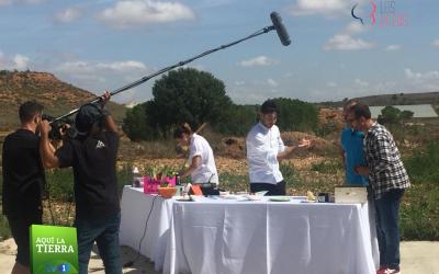 El programa «AQUÍ LA TIERRA» de TV 1 visita Los Petos